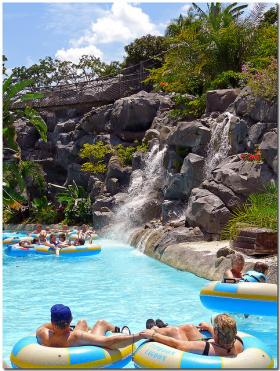 The Typhoon Lagoon in Disney World
