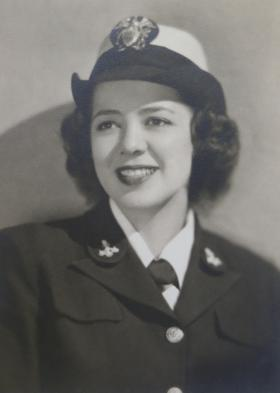 Julia Parsons, pictured here in the early 1940s, was tasked with deciphering German U-boat messages.