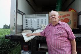 Jack Greenawalt doesn't remember exactly how he got hooked up with the food bank, but he said he's glad he did.