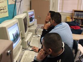 Students rely on internet access inside and outside of school for homework, research, and communication