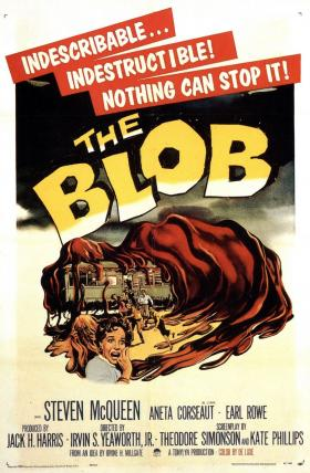 Beware of the Blob! Did you know The Blob has a campy theme song?