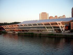 Pittsburgh is a hub for conventions and part of the reason why is the David Lawrence Convention Center.