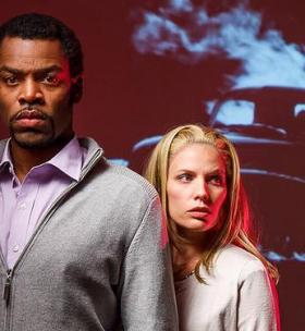 Michael Dailey and Shannon Kessler Dooley play the characters of Ben and Barbara in Night of the Living Dead the Opera.