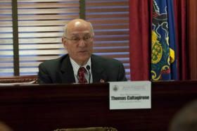 Representative Tom Caltagirone supports a bill requiring mental health training for police and district judges.