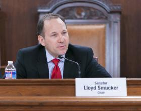 Senator Lloyd Smucker is a leader in trying to pass the Pennsylvania Dream Act Bill.