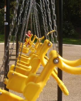 Playgrounds made or reformed after March 15 of this past year are required to make changes to be more accessible for children with disabilities.