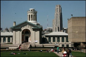 Carnegie Mellon and the University of Pittsburgh helped to diversify Pittsburgh's economy