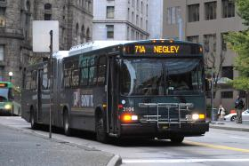 A proposed plan to re-configure downtown bus routes has been placed on hold.
