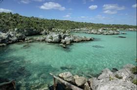 Xel Ha Lagoon in Riviera Maya
