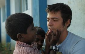 Pittsburgh native Rocky Braat is known as Rocky Anna by the orphans he lives with in India, Anna is a term of endearment meaning big brother.