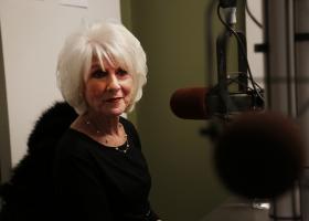 Diane Rehm in studio A