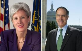 U.S. Bob Casey (D-PA) will be among those grilling HHS Sec. Kathleen Sebelius at today's committee meeting