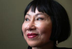 Author Amy Tan was in town for the Pittsburgh Arts and Lectures Monday night speaker series