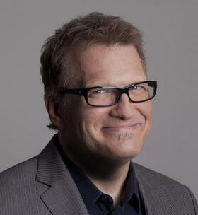 Comedian and host, Drew Carey