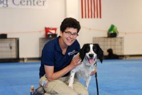 Cindy Otto at the Penn Vet Working Dog Center trains dogs and aims to use them to detect diseases in humans.