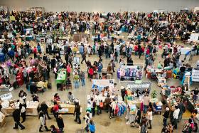 Last year's Handmade Arcade drew more than 9,000 shoppers.