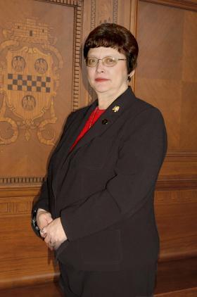 Current City Council President, Darlene Harris