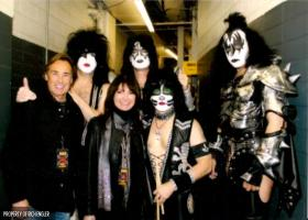 Rich Engler and the band Kiss