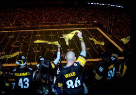 Steelers fans rank ninth in an Emory University study on the Best Fans in the NFL.