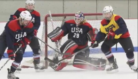 Brianne and Team USA hope to bring home a gold from the Winter Olympics in Sochi.