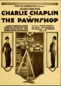 Hollywood Theatre is celebrating Charlie Chaplin's Little Tramp character's 100th anniversary Sunday by showing the Pawnshop.