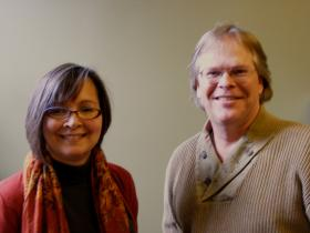 Stephanie Dangel, Executive Director of the Innovation Practice Institute, and Michael Madison, Faculty Director of IPI