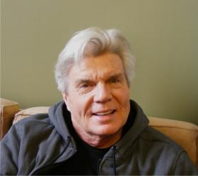 John Davidson plays the Wizard in the touring Broadway musical, Wicked