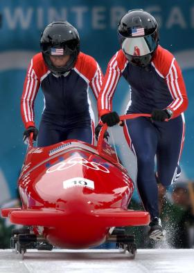 USA Olympic Bobsledders