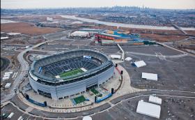 MetLife Stadium prepares for Super Bowl XLVIII