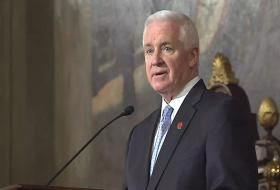Gov. Tom Corbett makes his budget proposal to state lawmakers Tuesday.