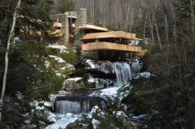 Falling Water in winter