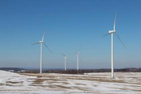 Wind farms like this one near Patton, Pa. were aided by the federal wind production tax credit, which expired in December.