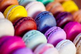 Macarons come in a rainbow of colors and can be just about any flavor imaginable.