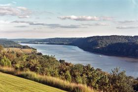 An indigenous-led river walk along the Ohio River will take participants from Pittsburgh's Point State Park to where it meets the Mississippi River.