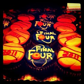 """If this baker tried selling these """"Final Four"""" cupcakes they could face legal trouble."""