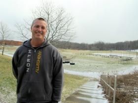 Dave Schmidt and other teachers in the district have written grants to purchase exercise equipment for their students.
