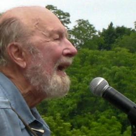 Iconic folk singer Pete Seeger championed environmental causes and workers' rights.