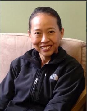 Susanne Park will join her sister Irene in this year's Boston Marathon.  She'll be running for Spaulding Rehabilitation Hospital in Boston.