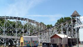 Leap The Dips is the oldest wooden coaster in the country.