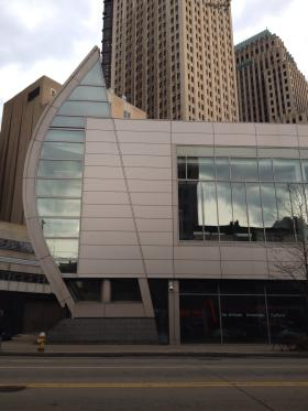 The August Wilson Center for African American Culture in Downtown Pittsburgh