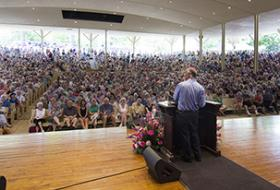 A lecture at the Chautauqua Institution