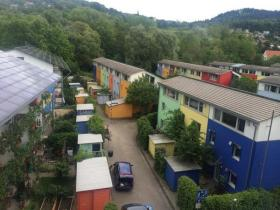 Photo of a solar settlement in Germany, tweeted by Bill Peduto