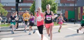Runners participating in last year's City Spree had a great time exploring the city while getting points at each checkpoint.