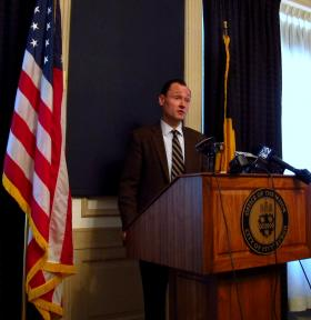 Mayor Bill Peduto's Chief of Staff Kevin Acklin outlined some options being examined to help reduce the cleanup costs to the city following large events.
