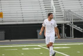 Nick DiSomma, a defender on the Fort Pitt Regiment, scored the only goal in a 1-0 win over the I-79 rival, Erie Admirals earlier in the season.