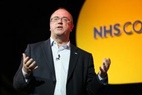 Sir David Nicholson delivers a keynote speech for the NHS Confederation in 2012