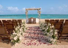 One of the many changes in the wedding business is an increase in destination weddings.