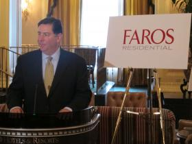 Mayor Bill Peduto said Faros' investment in Pittsburgh real estate was a step toward attracting new residents to the city and creating a larger tax base.