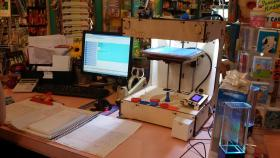 One of Piece Maker Technologies' 3D printers