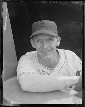 In addition to the Pittsburgh Pirates, Fritz Ostermueller played for the Boston Red Sox, pictured here.
